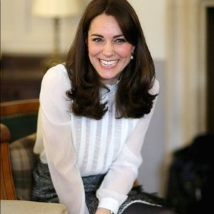 Reiss Vinnie Blouse ASO Kate Middleton